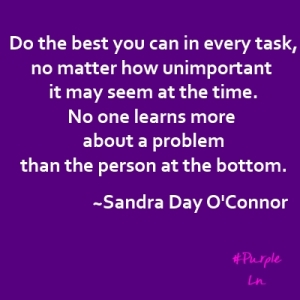 Do the best-Sandra Day OConnor-hashtag purple-quote