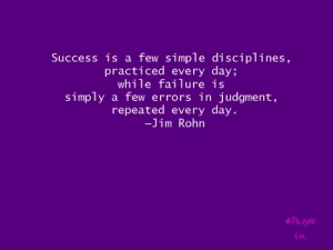 Sucess is-JimRohn-hashtag-purple-quote