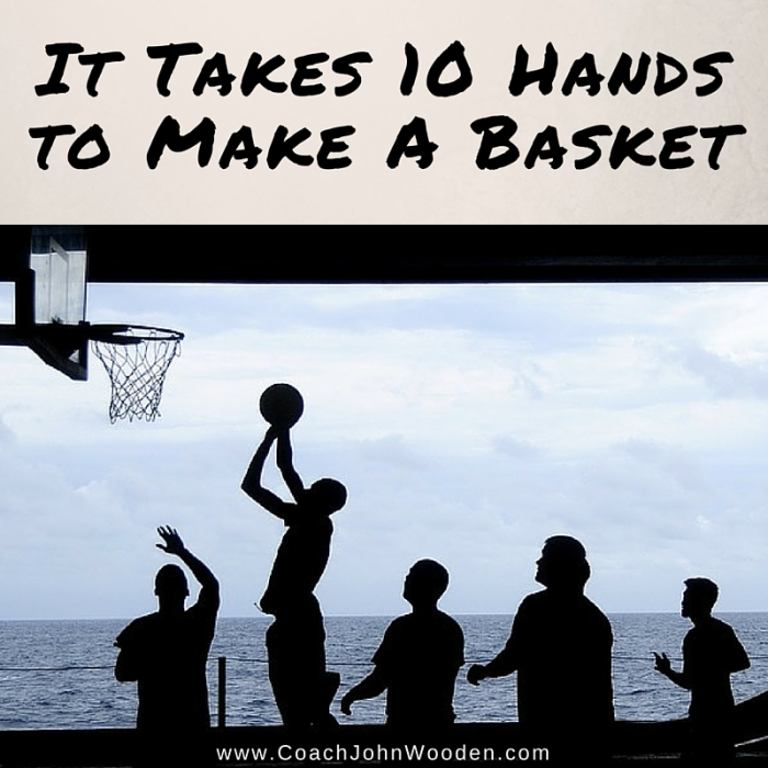 It Takes 10 Hands to Make aBasket