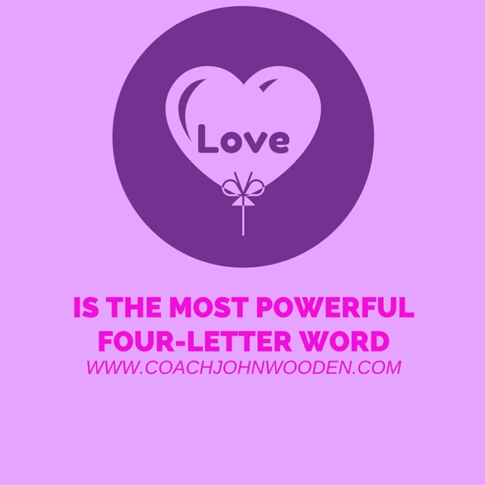 Love is the most powerful four-letter word
